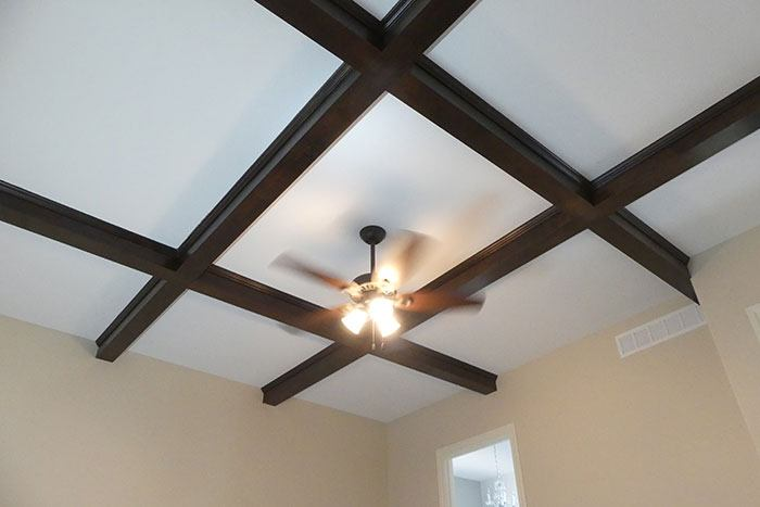 Custom ceilings by Heritage