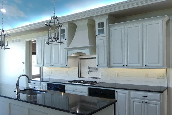 This Is A Gorgeous Custom Kitchen In A New Custom Home Build.